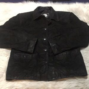 Vintage Pop's Leather Coat